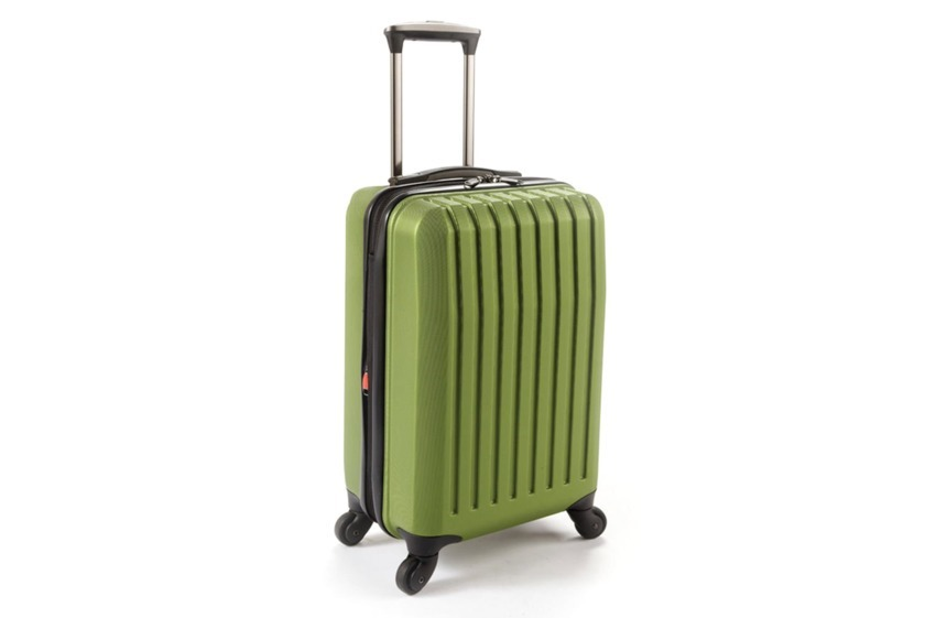 Altre valigie amate dai frequent flyers Brookstone Dash 4-Wheeled Expandable Carry-On