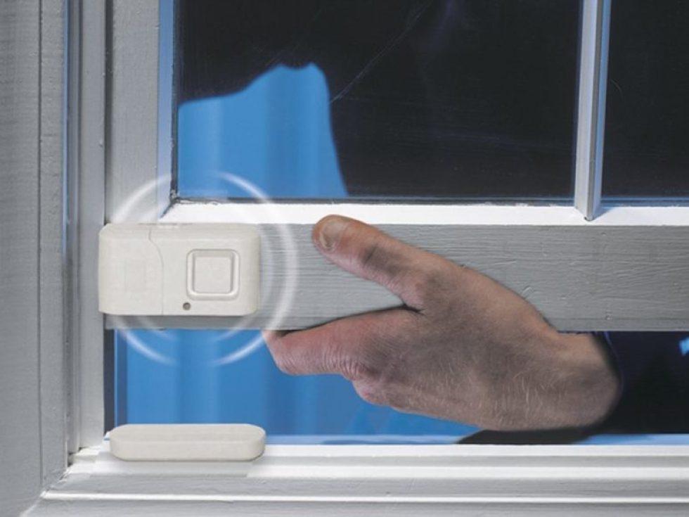 Il miglior allarme per porte o finestre GE Personal Security Window Door Alarm