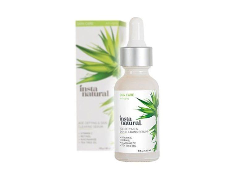 Il miglior siero anti-invecchiamento per la pelle a tendenza acneica Instanatural Age-defying Skin Clearing Serum