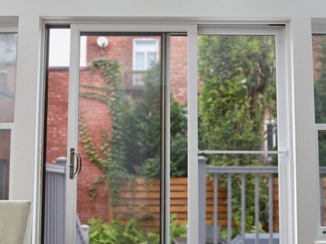 La migliore barra di sicurezza per porte scorrevoli Ideal Security Inc. Patio Door Security Bar