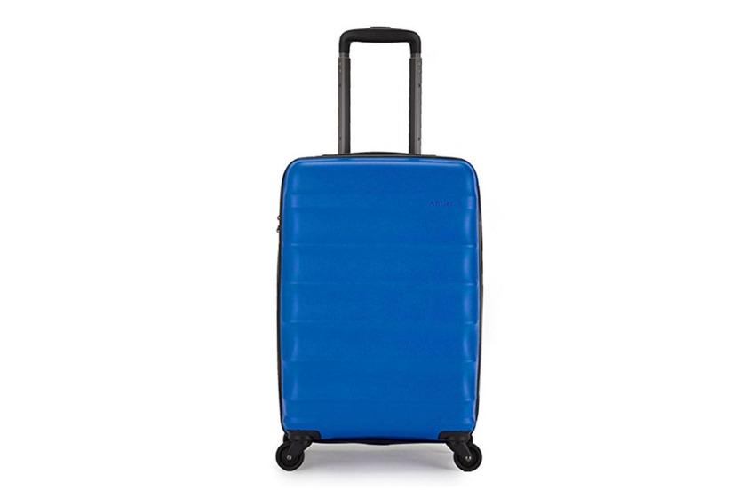 """La valigia che ha dato il via a tutto Antler Juno DLX 20"""" Expandable Hardside Carry-On Spinner Luggage"""
