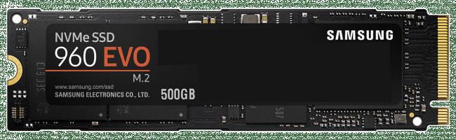 Memoria Samsung 960 Evo 500GB M.2 SSD