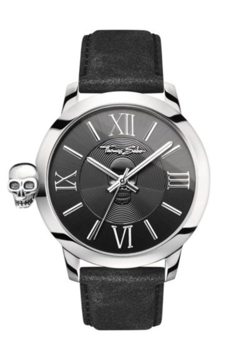 c2e90f69f6d7f8 L'ampia gamma di orologi della gioielleria tedesca Thomas Sabo offre  qualcosa per tutti, dai modelli sobri per i più riservati ai crani anneriti  per i ...