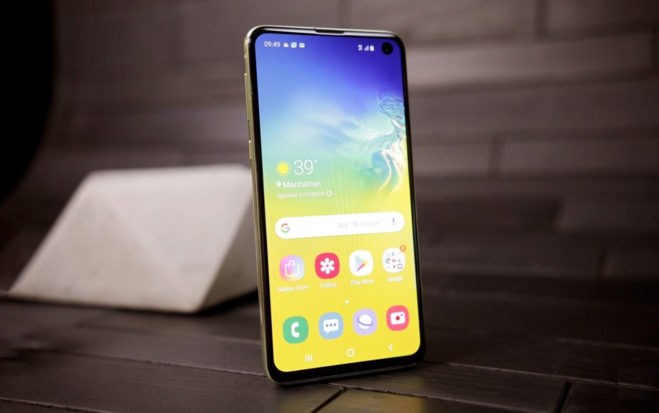 Samsung Galaxy S10e: piccola ammiraglia