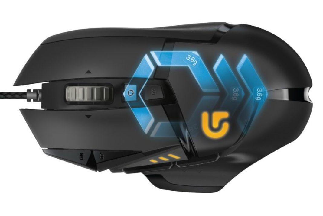 Logitech G502 Proteus Spectrum Gaming