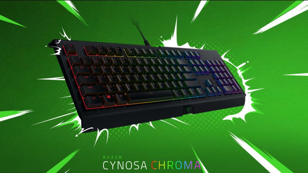 Razer Cynosa Chroma: miglior tastiera gaming a membrana