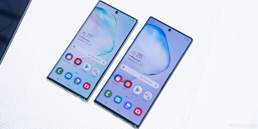 Samsung Galaxy Note 10 – Display