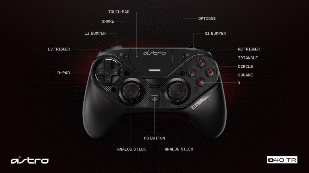 Astro Gaming C40 TR Controller – Personalizzazione