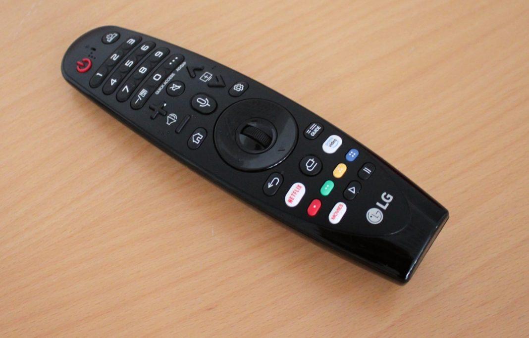 LG OLED C9 – Telecomando