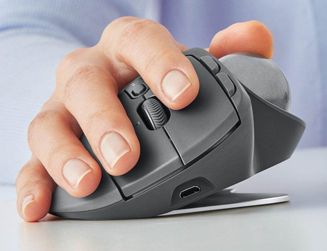 Logitech MX Ergo: il mouse più ergonomico