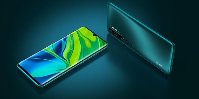 Xiaomi Mi Note 10 - Design