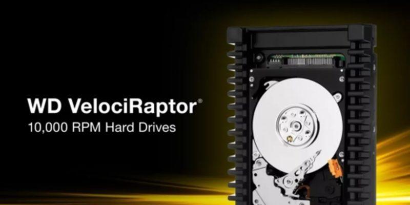 Western Digital VelociRaptor: il hard disk più veloce