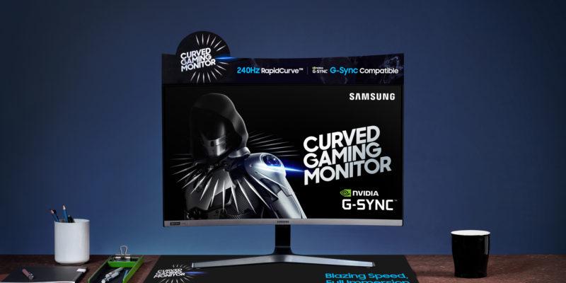 Samsung CRG5 da 27 pollici: miglior monitor gaming economico