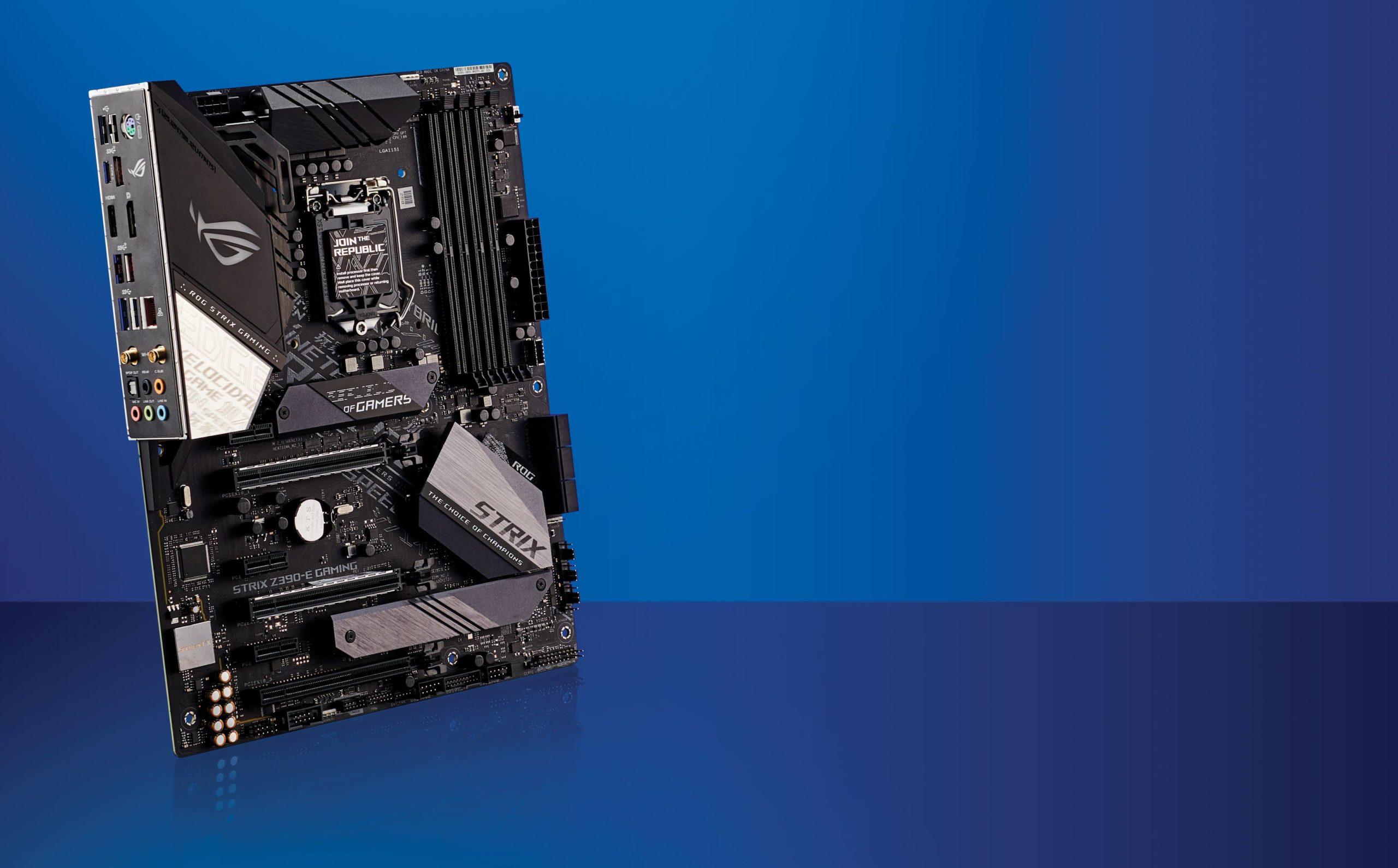 Asus ROG Strix Z390-E Gaming: miglior scheda madre Intel
