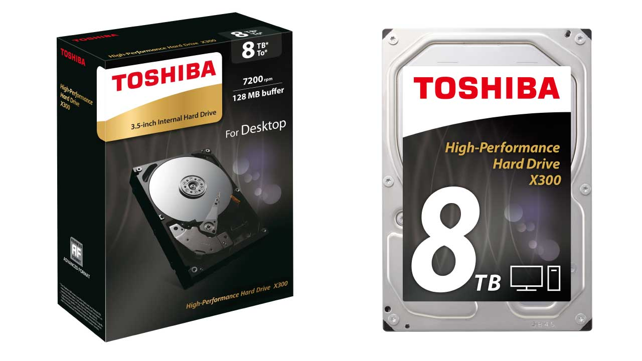 Toshiba X300: miglior hard disk gaming
