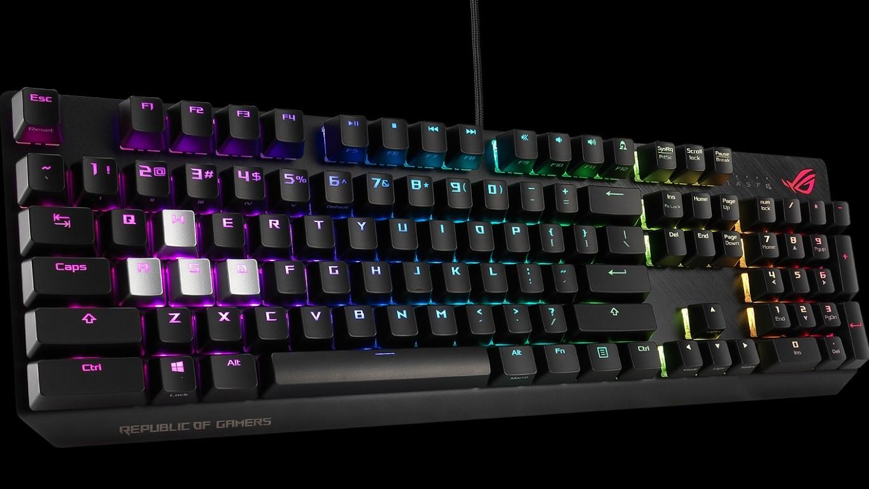 Asus ROG Strix Scope: miglior tastiera gaming per gli amanti di FPS