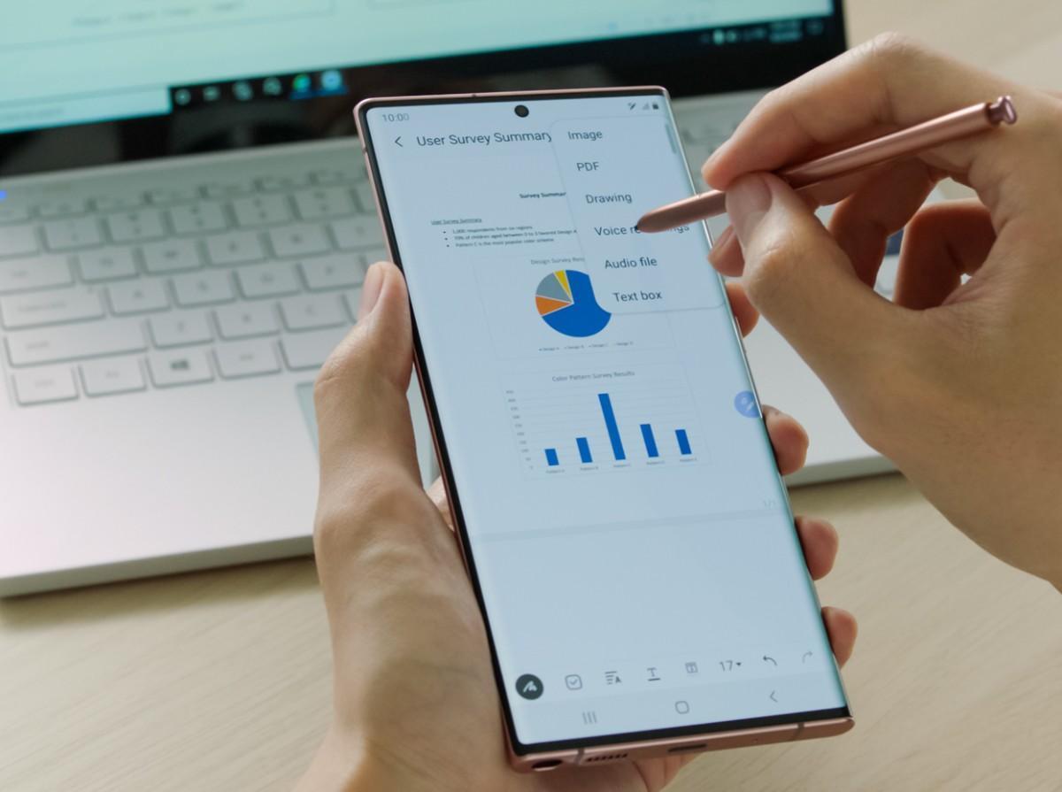 Samsung Galaxy Note 20 Ultra - Software