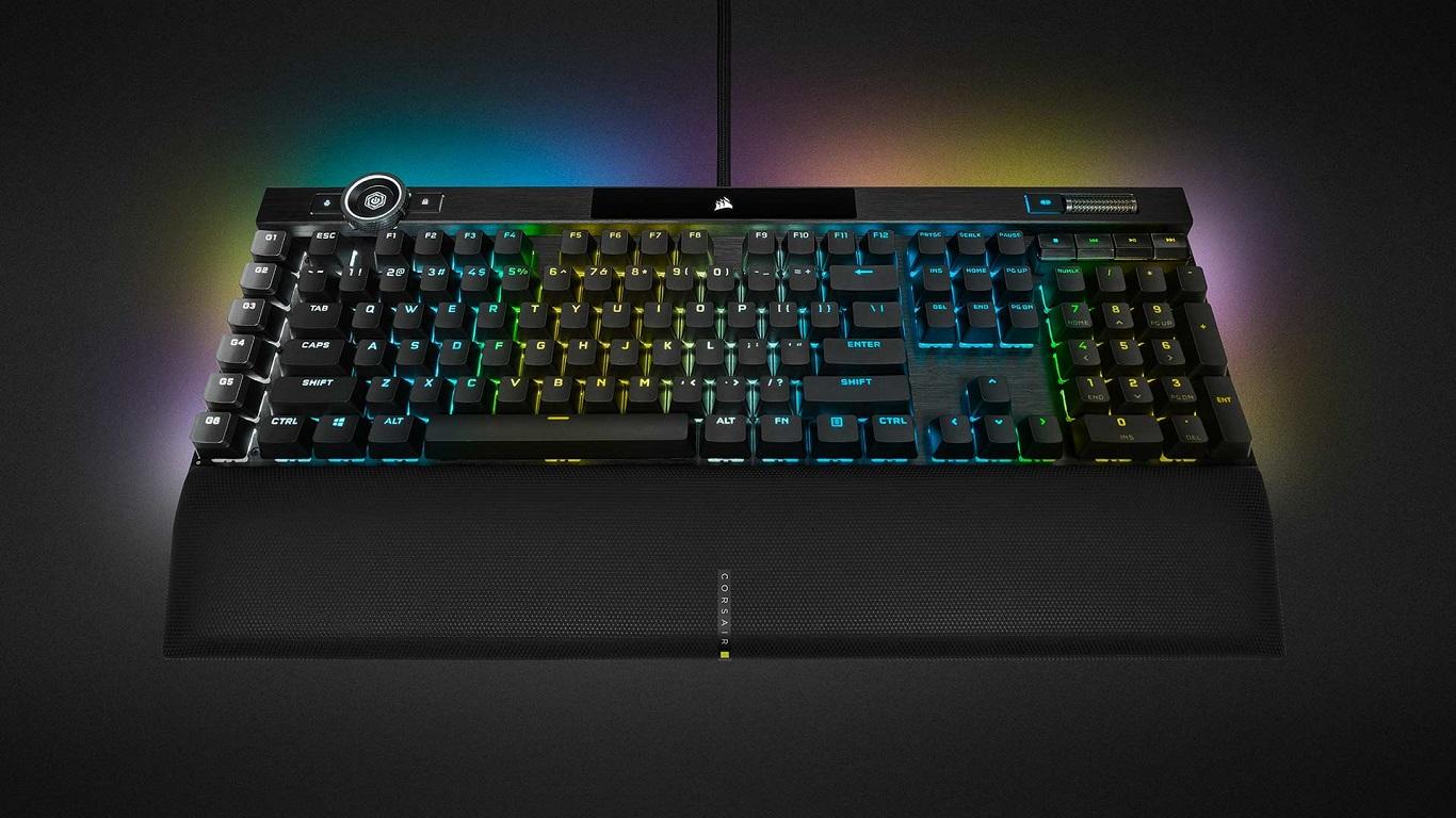 Corsair K100 RGB miglior tastiera premium