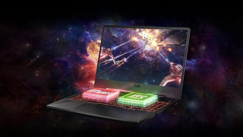 Asus TUF Gaming A15: miglior portatile gaming economico
