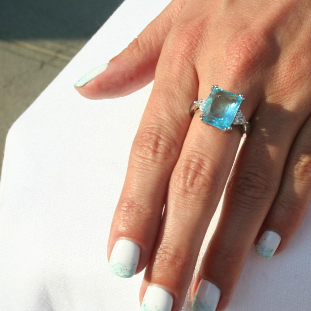 Meghan's Mirror MirrorMeg Collection – Heirloom Aquamarine Ring