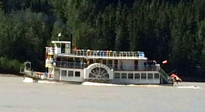 Spirit of the Klondike on Yukon River