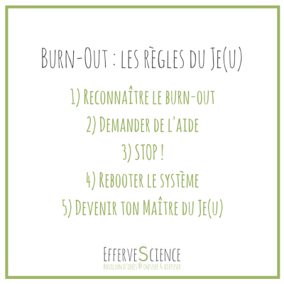 Burn-out, les règles du je(u)