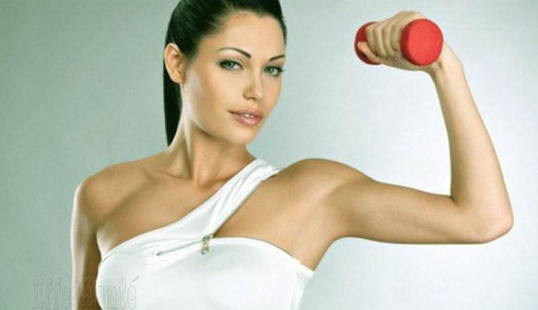 exercices maigrir, perdre du poids, perte de poids, exercices pour les aisselles