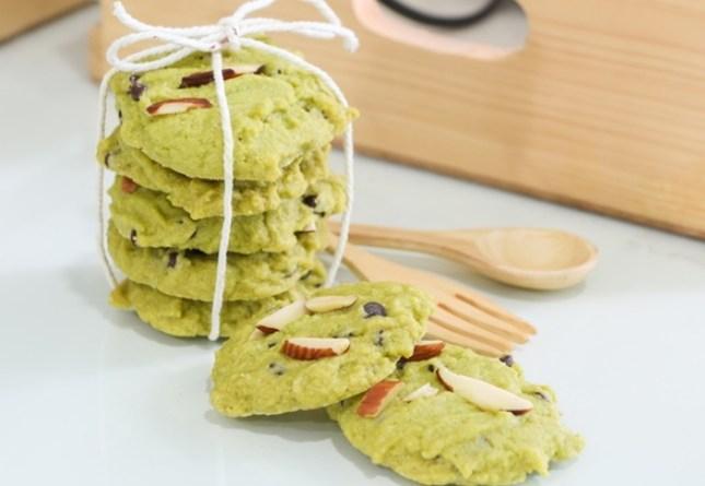 biscuits santé, biscuits légers, biscuits faciles, recette biscuits, poudre de matcha