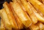 Bâtonnets de pommes de terre - sans une goutte d'huile dans un court laps de temps!
