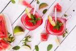 Smoothie au melon d'eau