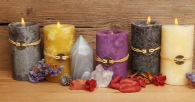 les bougies naturelles, bougies parfumées