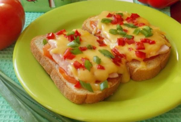 Sandwichs chauds au Jambon