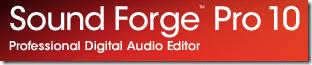 SoundForge Pro 10