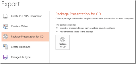 Presentation tip: Package Presentation for CD