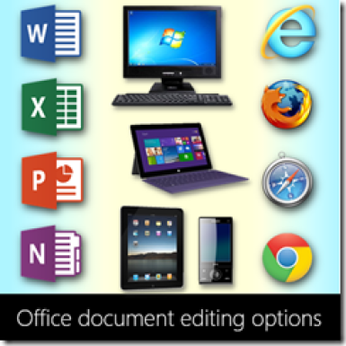 Editing Office Documents - poster
