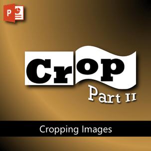 Powerpoint crop