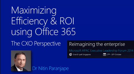 how to maximize efficiency using Office 365