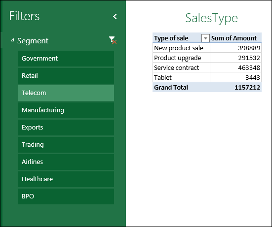Delivering Excel reports - View on Browser