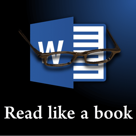Read Word documents like a book with Read Mode