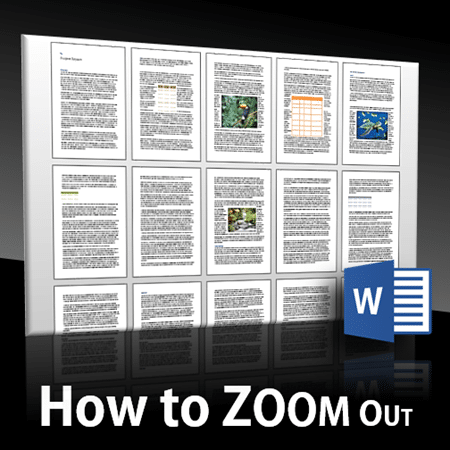 How to zoom out in Word - Dr. Nitin Paranjape
