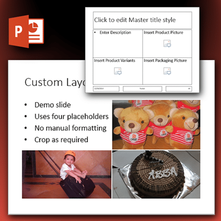 Custom layouts in PowerPoint