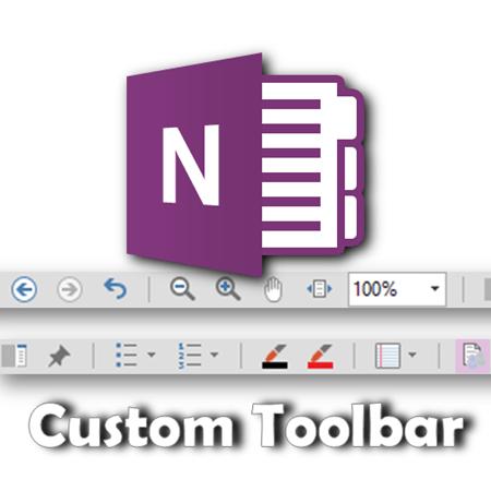 OneNote custom toolbar - Dr. Nitin Paranjape