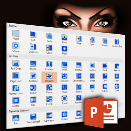 building a visual vocabulary for PowerPoint transitions - Dr. Nitin Paranjape