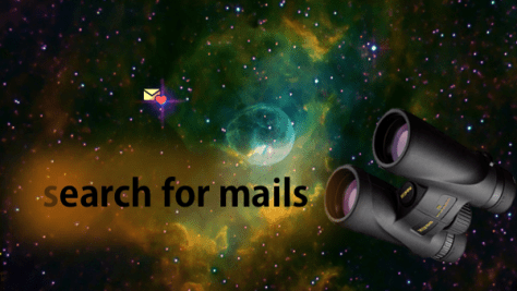 search Junk Mail