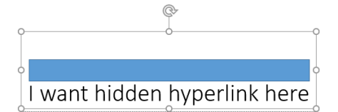 Hidden Hyperlinks