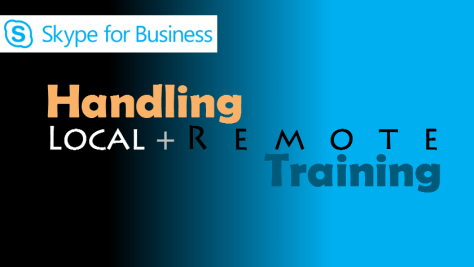 Remote and Local Training