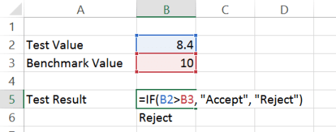 Excel IF function - variation