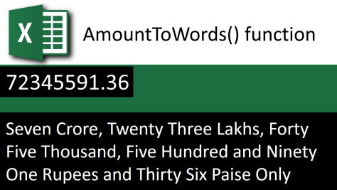 Amount to Words banner