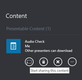 SFB audio enable poll
