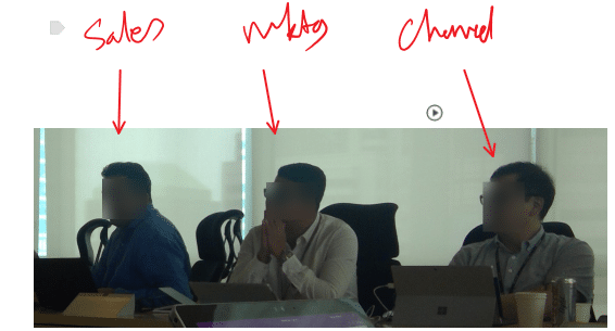 OneNote Audio linking to people attending the meeting
